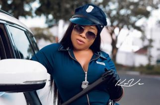 Moesha Boduong Dazzles In Police Outfit To Make An Arrest For Halloween