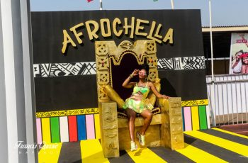 How A Golden Throne Became An Irresistible Attraction at Afrochella