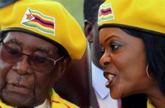 Robert Mugabe married Grace, 41 years his junior, in 1996