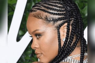 360 Degrees Worth Close Up Shots Of The Braids Rihanna Rocked To The Fashion Awards 2019