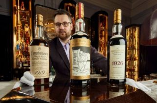 "Whisky Auctioneer founder Iain McClune said the collection was ""truly one of a kind"""