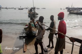 Fishermen In Elmina Reject Food Items From Fisheries Minister