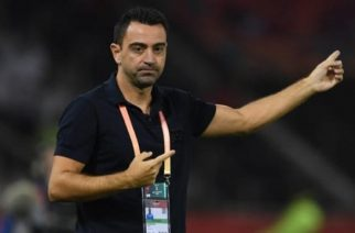 Xavi played for Al Sadd for four years before taking over as manager