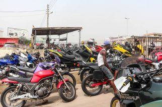 Photos: The Business Of Motorbikes In Ghana