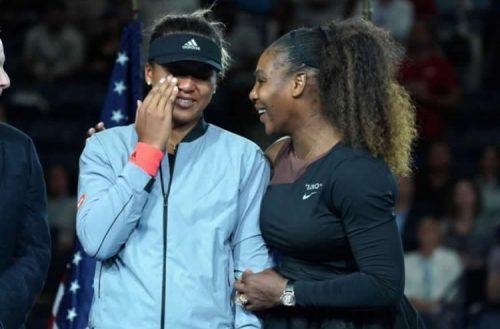 Naomi Osakaand Serena Williams