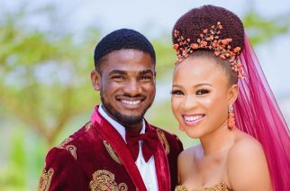 Nigerian Couple Shows A Fabulous Royal Wedding Gown Look Like