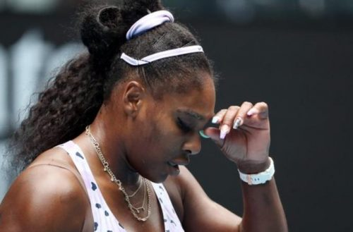 Serena Williams made 56 unforced errors against Wang Qiang, who only had 20