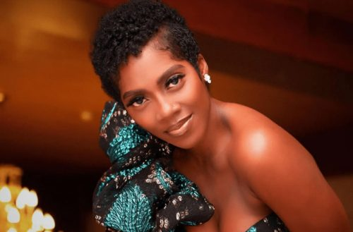 Nigeria's Tiwa Savage Goes Natural Hair & Ditches The Weave