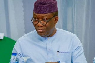 Gov. Kayode Fayemi of Ekiti. Photo: TWITTER/EKITISTATEGOV