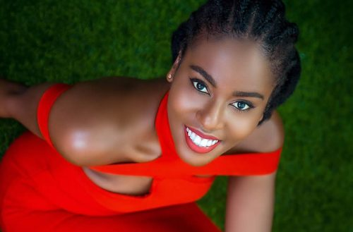 MzVee Goes Red Marking Val's Day With Stunning Photos