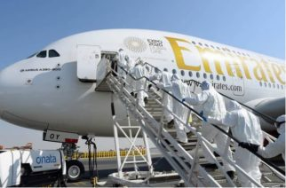 Coronavirus: Emirates Cleans And Disinfects Cabins