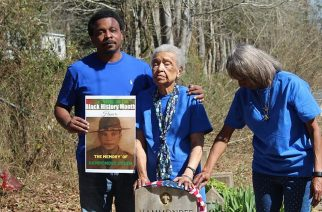 Family members recently gathered to commemorate his death. Photo: Antoinette Harrell