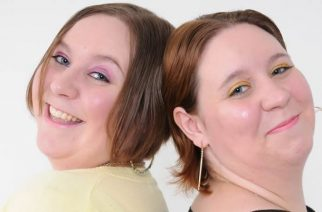 Twin sisters Katy (left) and Emma Davis, who have died within three days of each other after both testing positive for Covid-19