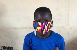 Coronavirus: 13-Year-Old Boy Creates Nose Mask For Rural Folks
