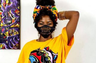 'Africa Is Not A Test Lab' Nose Masks Goes Viral – Here Is Chimzi Fashion's Response To France