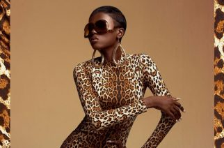 Ghanaian Beauty At It's Best, Model Bolanle Tear Up This Leopard Print Editorial