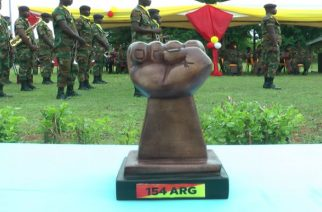 Ghana Armed Forces Outdoors 154 Armoured Regiment