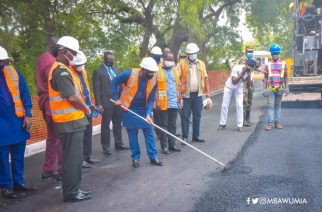 Bawumia Cuts Sod For Ghana Armed Forces Inner Roads Construction