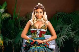 Beautiful Images Of Nigerian Entrepreneur Lizzy In Her Haute African Print Gown