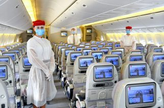Emirates Sets Safety Standard For Customers Travelling As Operations Resume