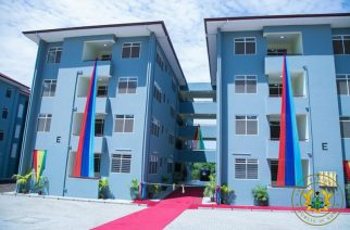 President Akufo-Addo Commissioned The 'New Douala Barracks' To Ease The Accommodation Challenges Of The Armed Forces