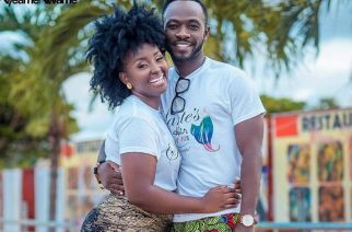 Rapper Okyeame Kwame and his wife Annica