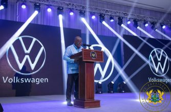 Unveiling Of The First VW Assembled Vehicles In Ghana