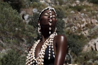 Ivorian Designer Lafalaise Dion Is Highlighting African Culture With Astonishing Headwear Made From Cowry Shells