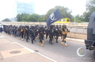Security Services To Embark On Nationwide Peace March On Thursday