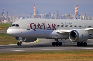 Qatar Airways Finally Touches Down At KIA with Boeing 787 Dreamliner