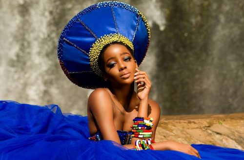 South African Actress Thuso Mbedu's Stuns In Various Beautiful Traditional Looks For SA Heritage Day