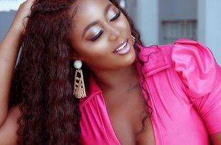 Salma Mumin In A Pink Outfit To Raise Awareness for Breast Cancer