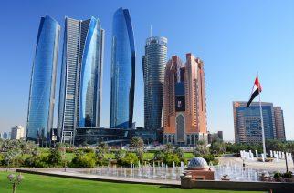 Skyscrapers of Abu-Dhabi.