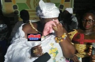Queen Mother Cries After Her Community Got Electricity After 508 Years
