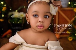 Meet Aurelia, The Gorgeous Nigerian Baby With The Cutest Eyes Ever