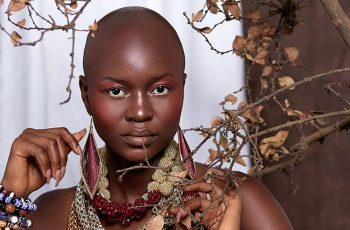 Fashion Model Irene Yesutor Absolutely Slay These Shots Proving 'Bald Is The New Black'