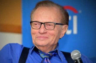 The late Larry King