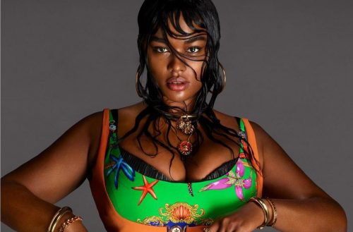 African American Plus-Size Model Precious Lee Is The Newest Face Of Versace