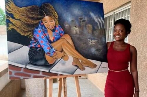 Making A Living With Talent; The Story Of Angelina Ampofo Asomaning