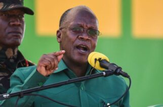 The late president John Magufuli