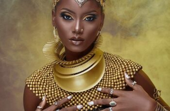 This Astonishing Beauty Shoot Is A Perfect Depiction Of Royal African Accessorizing & Style