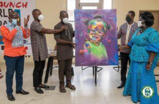 Accra Metropolitan Assembly, GAVA Launch 2021 World Art Day