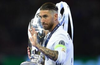 Ramos has won 22 trophies with Real Madrid, including four Champions League titles