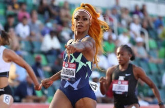 Sha'Carri Richardson won the 100m at the US trials in Oregon in June
