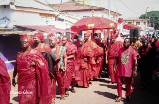 GA Homowo Festival in Ghana