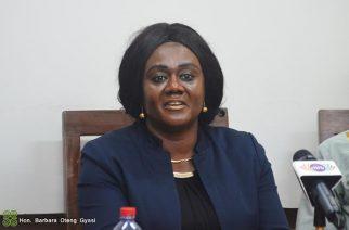Mrs Barbara Oteng-Gyasi - Tourism Minister