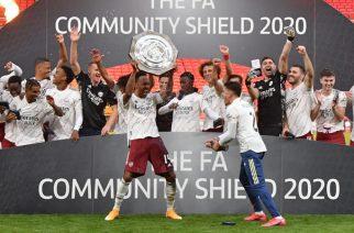 Arsenal Beat Liverpool On Penalties To Win Community Shield