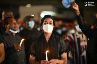 NDC holds Vigil in Memory of Jerry John Rawlings